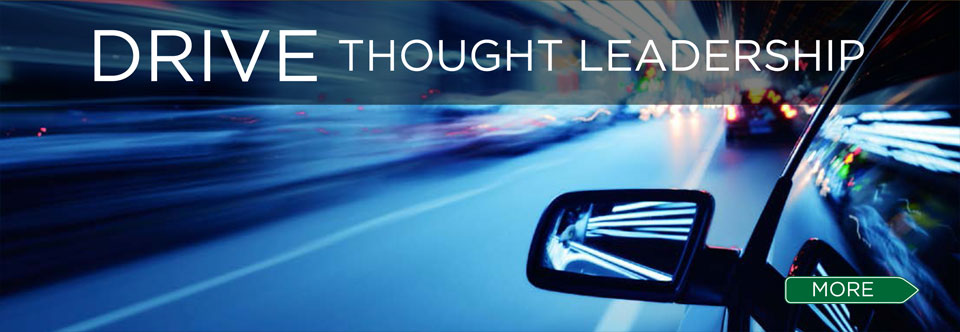 Drive thought leadership